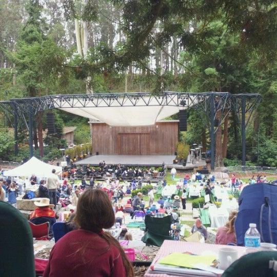 Photo taken at Sigmund Stern Grove by Ian M. on 7/29/2012