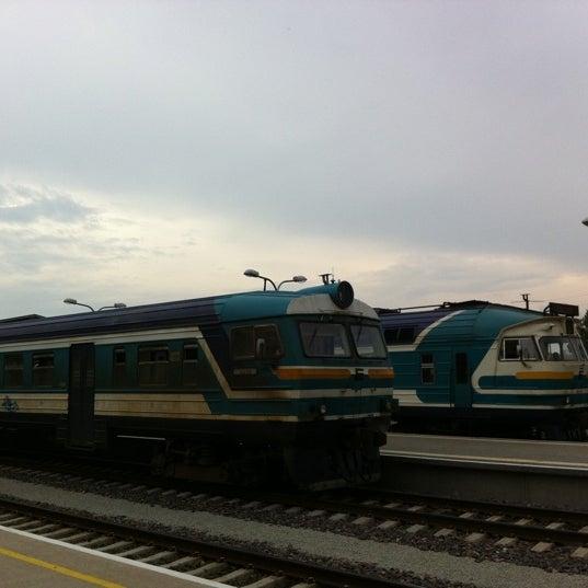 Photo taken at Tartu Raudteejaam by Jaak L. on 7/26/2011