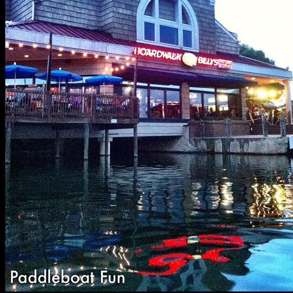 Photo taken at Boardwalk Billy's Raw Bar & Ribs by Stephanie F. on 7/14/2012