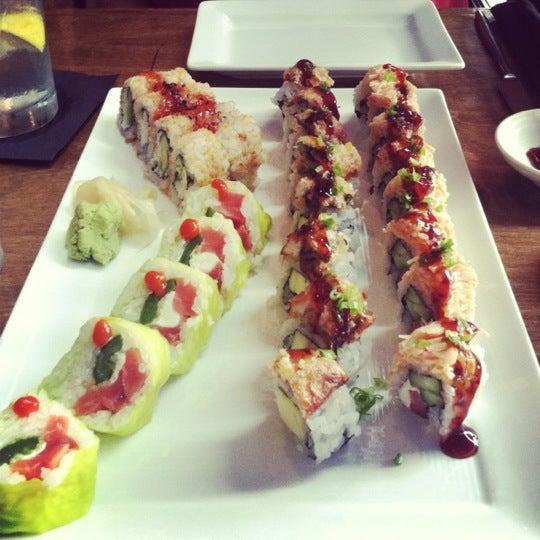 Photo taken at Blue Sushi Sake Grill by Christen on 9/3/2012