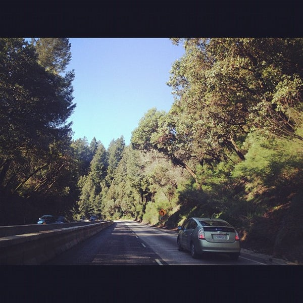 Photo taken at Santa Cruz Mountains by Melody L. on 3/2/2012