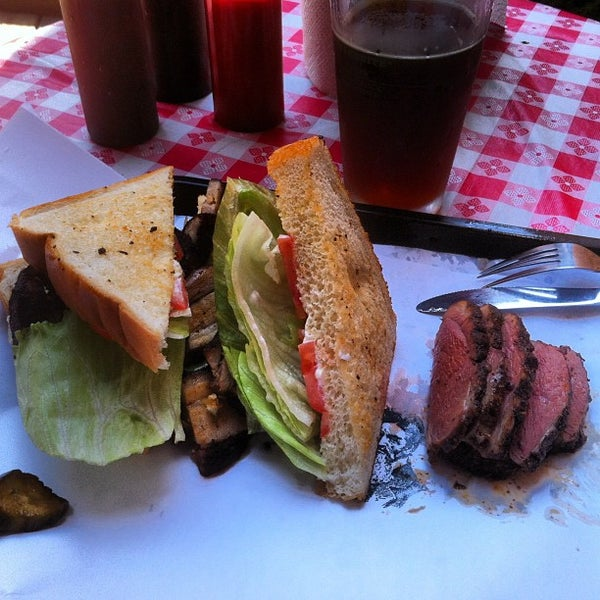 Photo taken at John Brown Smokehouse by Jukay H. on 8/18/2012