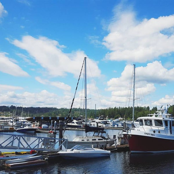 Photo taken at Gig Harbor Waterfront by Lamberto Y. on 8/28/2015