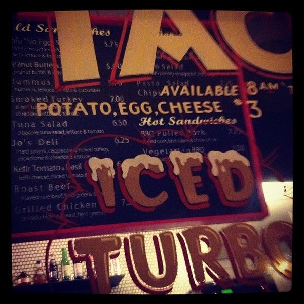 Photo taken at Jo's Coffee by Greg N. on 9/29/2012