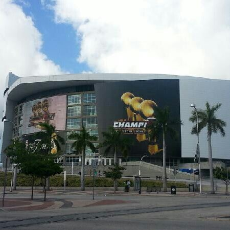 Photo taken at American Airlines Arena by Wayne H. on 7/6/2013