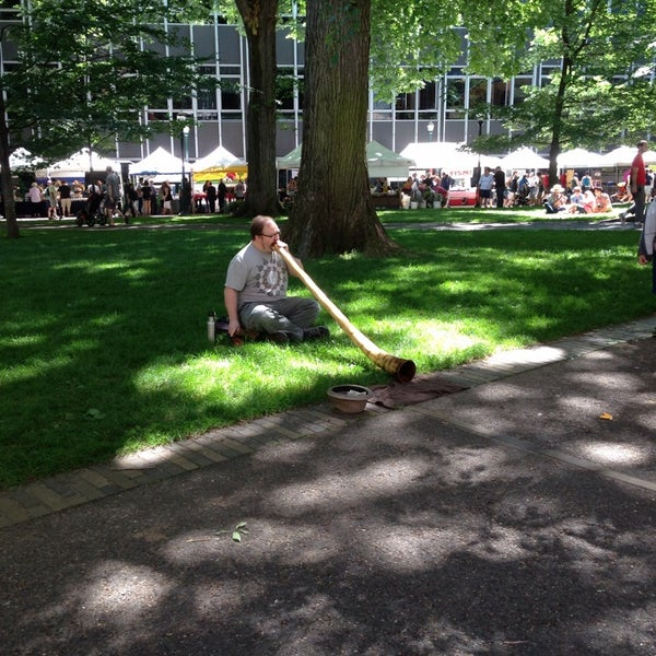Photo taken at Portland Farmer's Market at PSU by Peace S. on 6/8/2013