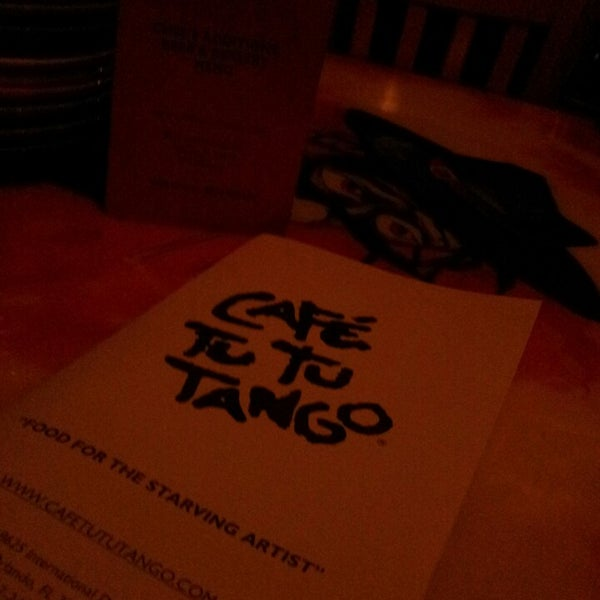 Photo taken at Café Tu Tu Tango by Deborah E. on 2/18/2014