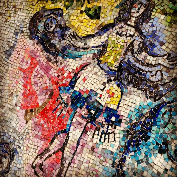 "Photo taken at Chagall Mosaic, ""The Four Seasons"" by Ann M. on 10/24/2014"