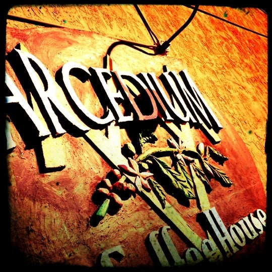 Photo taken at Arcedium Coffeehouse Inc by Alex C. on 10/10/2012