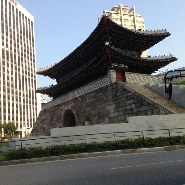 Photo taken at Sungnyemun by ST K. on 7/6/2013