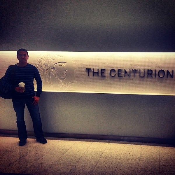 Photo taken at The Centurion Lounge by American Express by John P. on 1/30/2014
