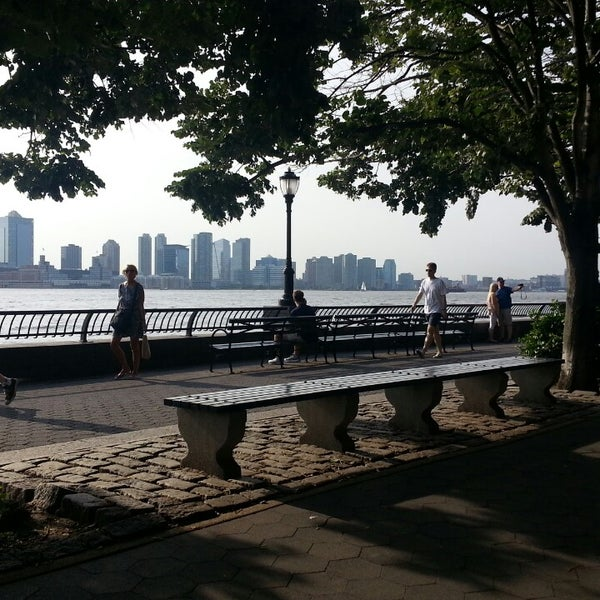 Photo taken at Battery Park City Esplanade by LaTanya B. on 6/22/2013