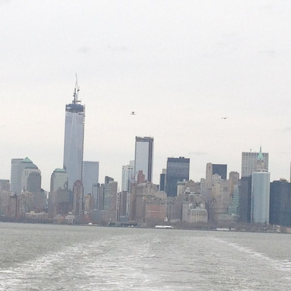 Photo taken at Staten Island Ferry Boat - Guy V. Molinari by Adela M. on 3/17/2013