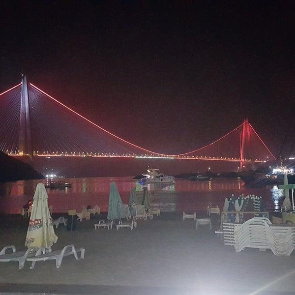 Photo taken at Poyrazköy Sahil by Faik Burak Y. on 8/21/2016