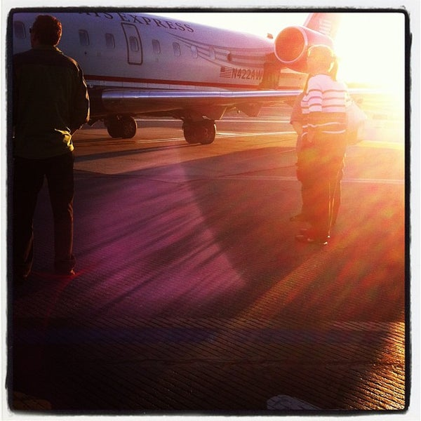 Photo taken at Westchester County Airport (HPN) by Justin S. on 9/16/2012