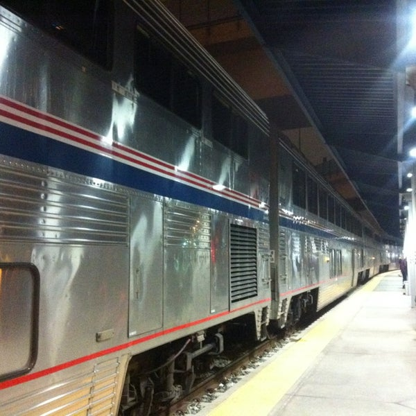 Photo taken at Denver Amtrak (DEN) by Michael W. on 11/12/2013