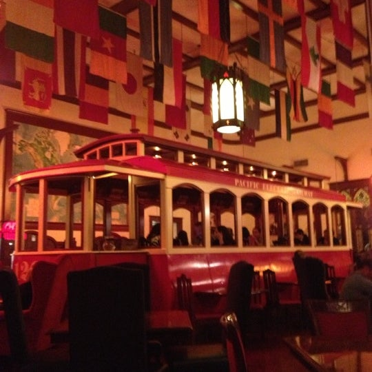 The Old Spaghetti Factory in Duarte is an Italian restaurant that affords a unique experience, in part due to a meticulously planned décor. The old-fashioned trolley car that makes up the dining hall is an exceptional flowsliveet.gae: Italian.