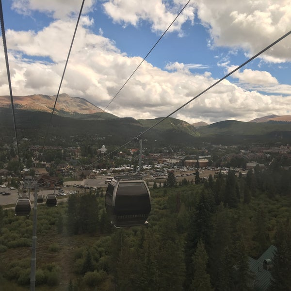 Photo taken at Breck Connect Gondola by Erin M. on 9/2/2016