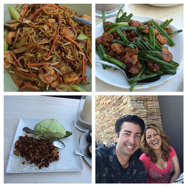 Photo taken at P.F. Chang's by Kim C. on 4/26/2014
