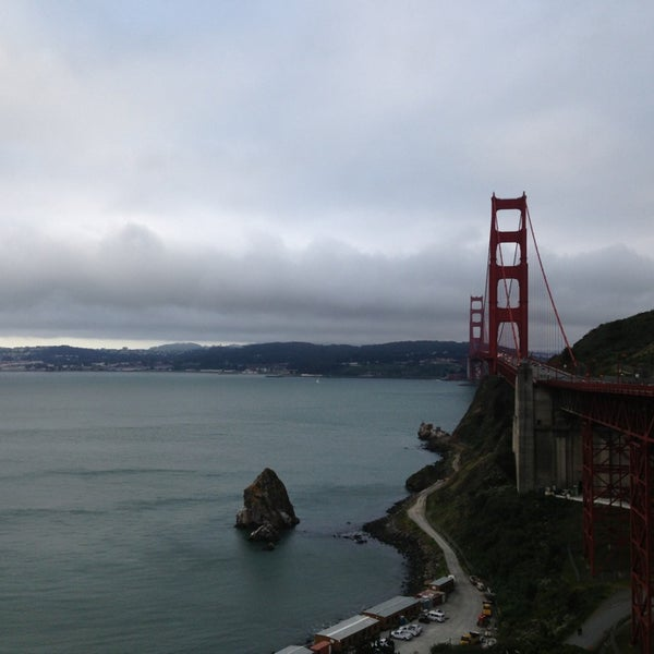 Photo taken at Vista Point by Tricia H. on 4/25/2013