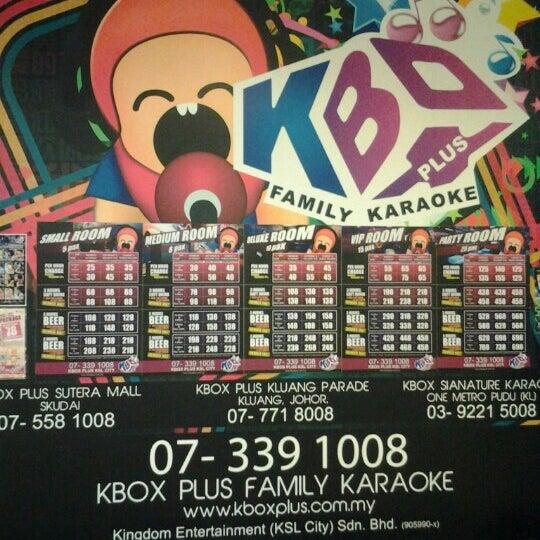 Photo taken at KBOX Plus by Ryan L. on 10/7/2012