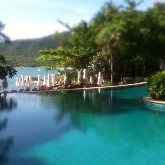 Photo taken at Santhiya Resort And Spa Koh Phangan by Zita C. on 10/5/2012