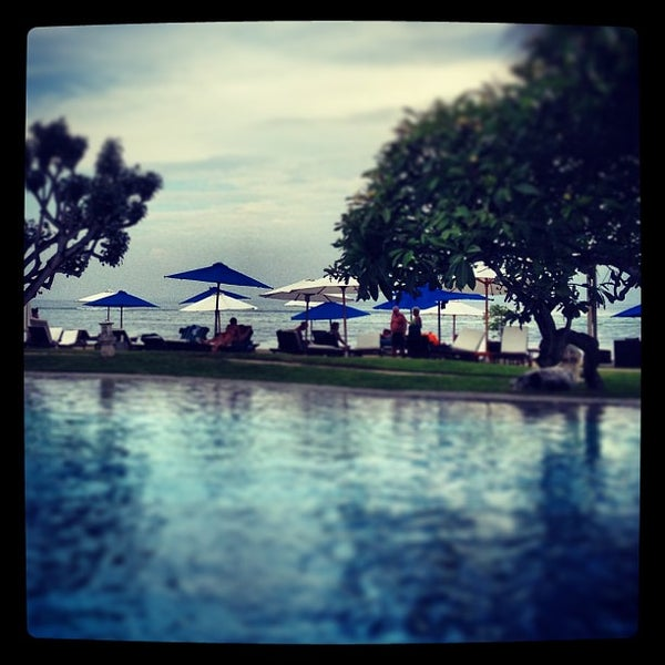 Photo taken at Grand Aston Bali Beach Resort by Ben A. on 2/2/2013