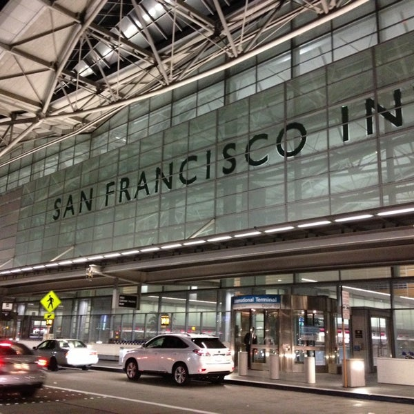 Photo taken at San Francisco International Airport (SFO) by Chris P. on 11/14/2013