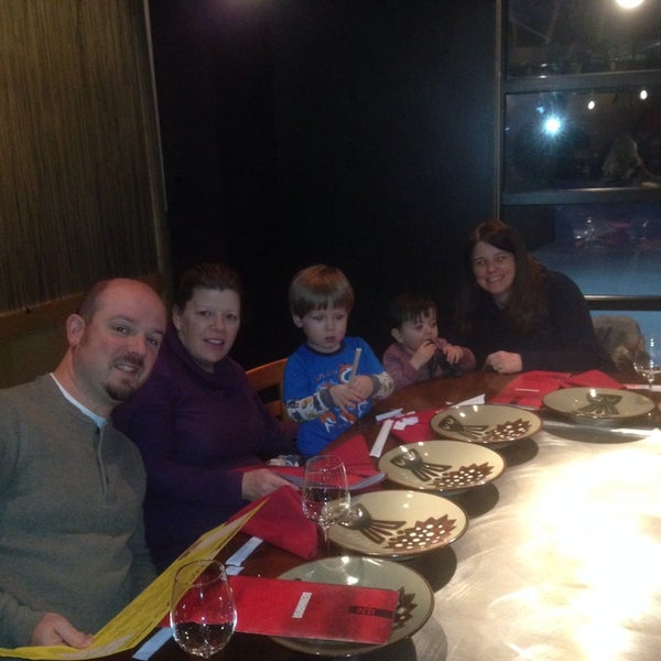Photo taken at Benihana by JMS on 2/5/2014