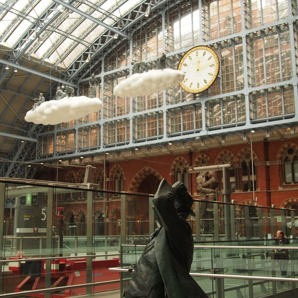 Photo taken at London St Pancras International Railway Station (STP) by Tim F. on 6/18/2013
