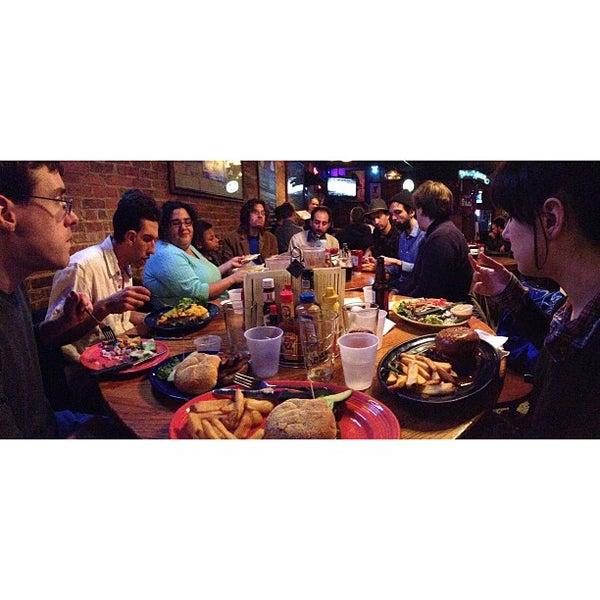 Photo taken at Manuel's Tavern by Justin R. on 1/23/2013