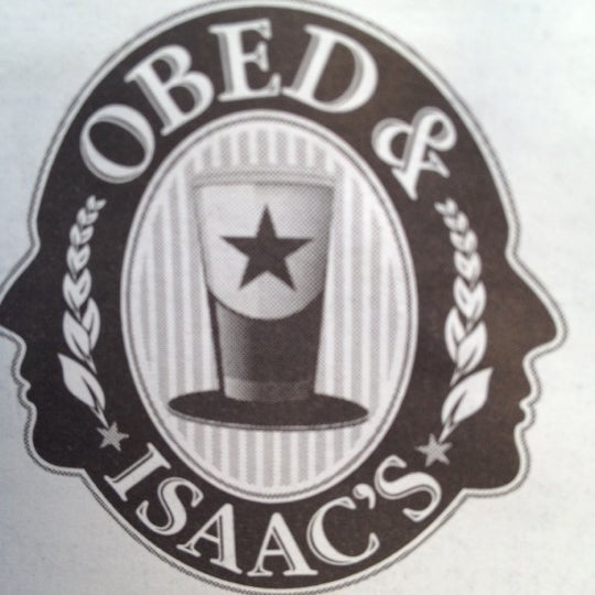 Photo taken at Obed & Isaac's Microbrewery and Eatery by Steward S. on 9/25/2012
