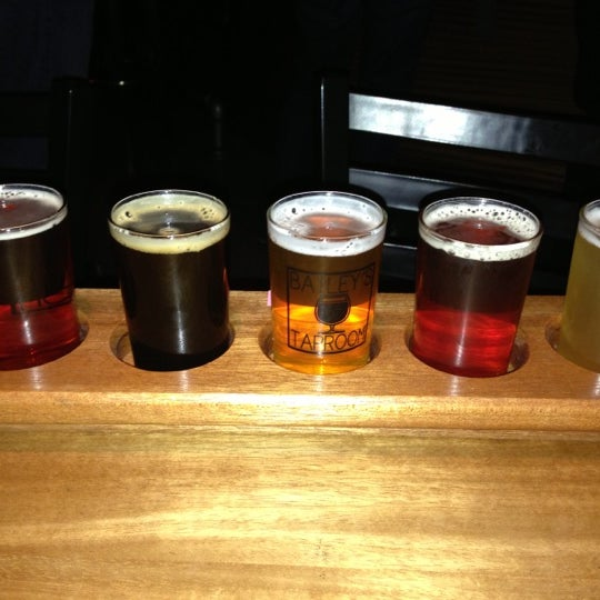Photo taken at Bailey's Taproom by Ryan B. on 12/9/2012
