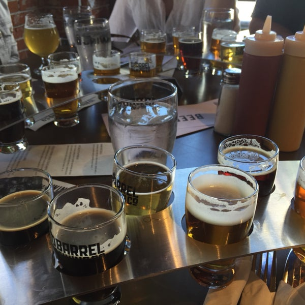 10 taster flights? And two different ones to choose from? Who could ask for more?