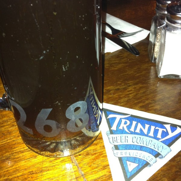 Photo taken at Trinity Brewhouse by Justin B. on 1/2/2013