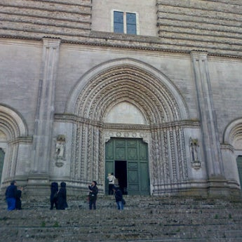 Photo taken at Tempio di San Fortunato by Elena R. on 2/16/2013