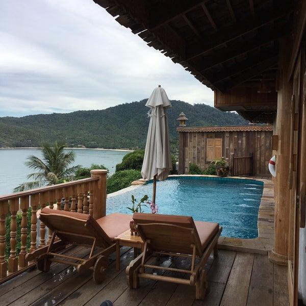 Photo taken at Santhiya Resort And Spa Koh Phangan by Laurent G. on 7/29/2016
