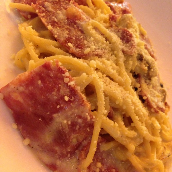 The Carbonara Spagetti taste so good