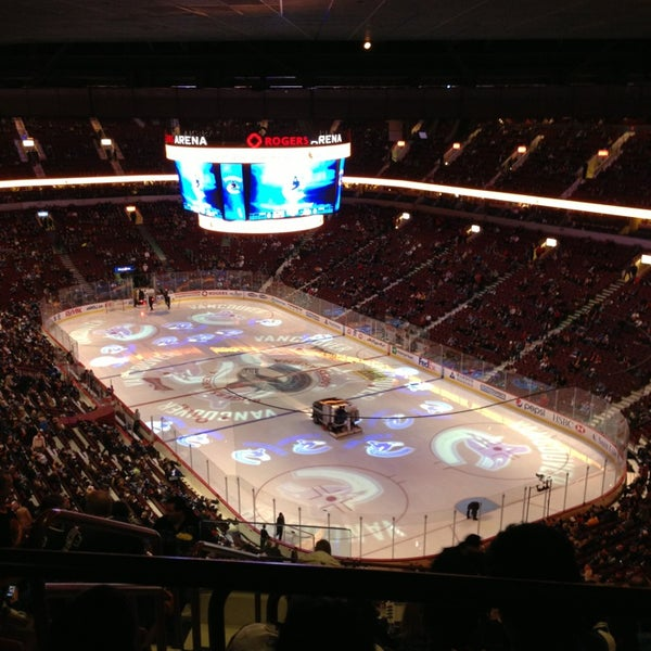 Photo taken at Rogers Arena by Walter S. on 3/3/2013