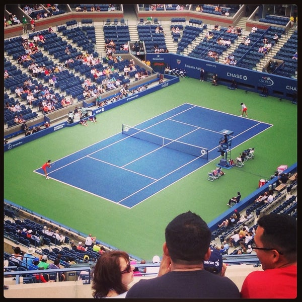 Photo taken at 2013 US Open Tennis Championships by Nathaniel on 9/10/2013