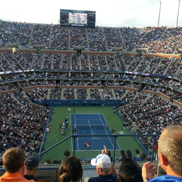 Photo taken at 2013 US Open Tennis Championships by Jessica L. on 9/10/2013