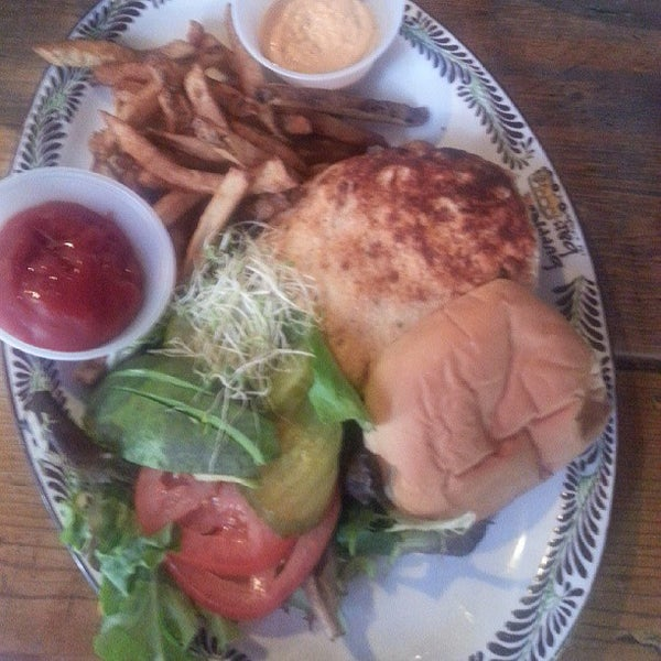 Photo taken at Burrito Bar & Kitchen by Nappyblack S. on 6/10/2013