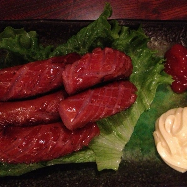 Photo taken at Shabu-Tatsu by Julie Y. on 2/8/2014