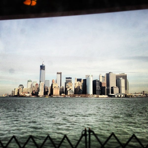 Photo taken at New York Harbor by Lidia S. on 12/31/2012