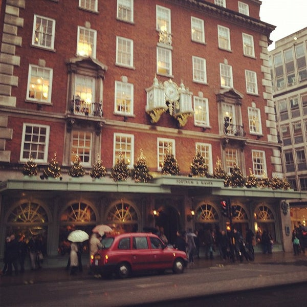 Photo taken at Fortnum & Mason by Daniel S. on 11/24/2012