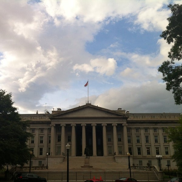 Photo taken at US Department of the Treasury by Randall G. on 7/13/2013
