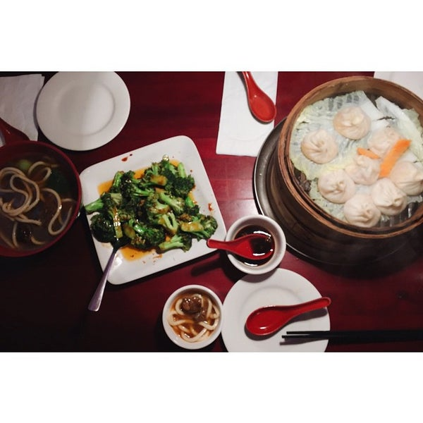 Photo taken at Shanghai Café Deluxe by may on 12/30/2014