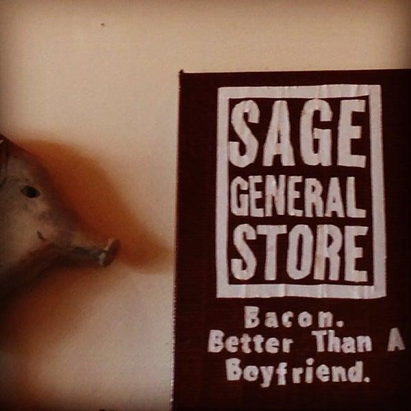 Photo taken at Sage Roadhouse by Jeff W. on 4/14/2013