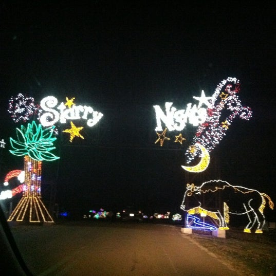 Photo taken at Starry Nights by Ms. Ally on 11/30/2012