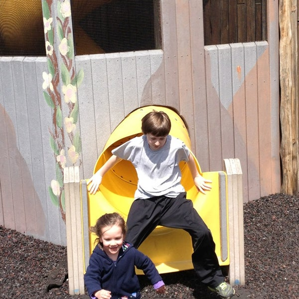 Photo taken at Annie's Playground by Jim B. on 4/7/2013